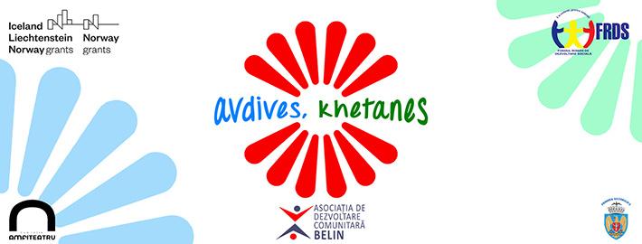 """""""Avdives, khetanes"""" – proiectul care vizează creșterea sustenabilă a calității vieții comunităților de romi din comuna Belin din Covasna și cartierul Ferentari, București"""
